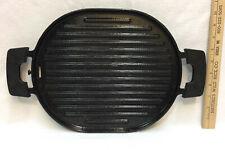 NuWave Grill Cast Iron Enamel Enamelware Graniteware Stove Top Induction Oval