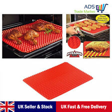 Silicone Baking Mat Pyramid Red Non Stick Silicone Cooking Mat