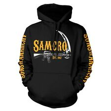 Officially Licensed Sons of Anarchy - SAMCRO Est. 1967 Hoodie S-XXL Sizes