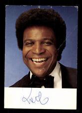 Roberto Blanco Autogrammkarte Original Signiert ## BC 91446