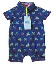 Ted Baker Baby Boy Polo Romper Bodysuit Sleepsuit Blue Bicycle Gift Newborn