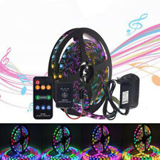 5m WS2811 Digital LED Strip 12V Dream Color Set Music Controller Power Adapter