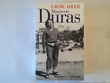 MARGUERITE DURAS 1998 LAURE ADLER ILLUSTRE BIOGRAPHIE NRF