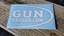 Gun Broker Sticker Decal / Rifle Gun Pistol Shooting Airsoft Hunting Magpul