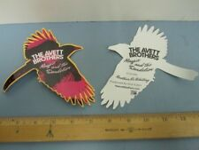 2 Avett Brothers 2013 Magpie and the Dandelion Promotional Stickers New Flawless