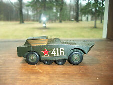 VINTAGE MILITARY SOLIDO FRANCE ARMY BTR 40 LANCE ROCKETS NO. 225 COLLECTABLE 71