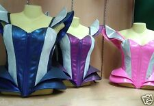 DaNeeNa L044C GAGA Beyonce Inspired Futurelistic Corset  Leather Costume XS-XL