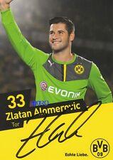 Zlatan ALOMEROVIC + Borussia Dortmund + Saison 2013/2014 + Orig. Autogrammkarte