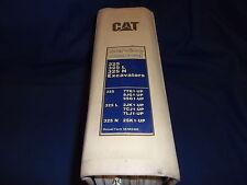 CAT CATERPILLAR 325 L N 325L 325N EXCAVATOR SERVICE SHOP REPAIR MANUAL BOOK