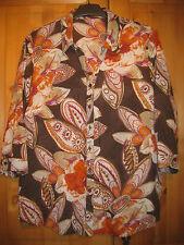 Betty Barclay Damenbluse Gr.44 getragen bunt gemustert gepflegt 3/4 Arm