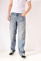 Vintage Lee Jeans Jambe Droite Bleu Moyen (W34 L32