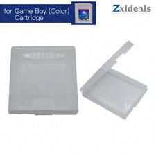 Game Case for Game Boy Nintendo Cart GBC Spare Clear Cartridge Box Replacement
