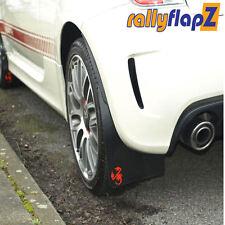 Rallyflapz KAYLAN ANTIBECCHEGGIO FIAT 500 ABARTH (2008) Nero + Red SCORPION LOGO