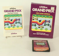 Boxed Atari 2600 game Grand Prix By Activision Tested & Working