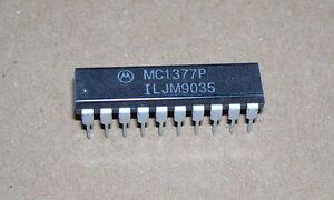 Atari 520 1040 ST STFM STE computer Motorolla MC1377P PAL / NTSC encoder IC chip