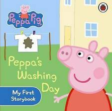 Peppa Pig: Peppa's Washing Day: My First Storybook by Penguin Books Ltd (Board book, 2010)