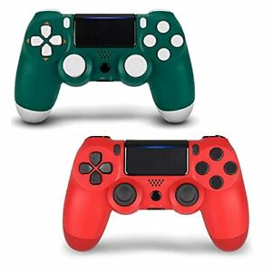 2 Pack Game Controller for PS4- Double Shock 4 Wireless Controller - Joystick wi