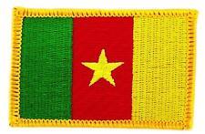 Patch écusson brodé Drapeau CAMEROUN CAMEROUNAIS  Thermocollant