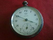 Reloj De Bolsillo Antiguo UMF Ruhla Saturn Hecho en Alemania