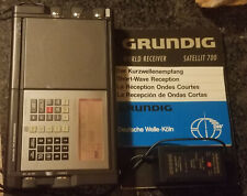 Grundig Satellit 700 Portable Digital RDS Battery Radio World Receiver