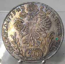 RRR!! 20 Kreuzer 1779 C-EvS/IK, Prag, Joseph II., Silber
