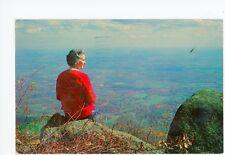 Woman on Sharp Top Mountain—Bedford VA Blue Ridge Parkway Vintage 1968