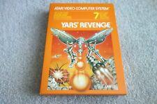 1980's ATARI 2600 PAL GAME - YARS' REVENGE - EX SHOP STOCK NEW & UNUSED