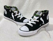 Converse Boy's All Star CT Street Mid Black/Khaki Camo Sneakers - Asst Sizes NWB