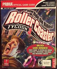 ROLLERCOASTER ROLLER COASTER TYCOON 3 PRIMA'S OFFICIAL STRATEGY GAME GUIDE