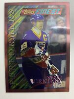 1995-96 Topps Finest Performers Card 5 Theme P10 Wayne Gretzky St Louis Blues