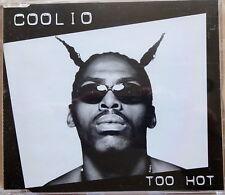 COOLIO  - TOO HOT (2 Track CD Single 1995)