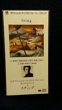 """Very Rare HTF Sting """"Why Should I Cry For You"""" STILL SEALED Japanese 3""""CD Single"""