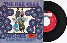 "The Bee mon-Words/Sinking ships - 7"" 45 signifiant Records (59 169)"