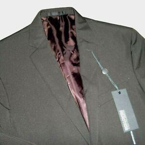 kenneth cole reaction mens two button SLIM sports coat blazer suit jacket -40R