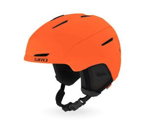 Giro Neo Mips Mat Bright Orange Ski Helmet New Snowboard Sports j20