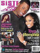 Sister 2 Sister magazine Toya Carter and Memphitz Cee Lo Green Jazmine Sullivan