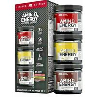 Optimum Nutrition Amino Energy Pre-Workout 30 Servings (3 x 10 Servings) 270g