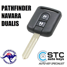 Complete REMOTE KEY for NISSAN PATHFINDER NAVARA DUALIS CAR KEY TRANSPONDER CHIP