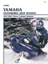 Clymer Repair Manual Yamaha Snowmobile, 1997-2002 S827 S827 27-S827 467827 (Fits: Yamaha)