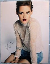 KRISTEN STEWART SIGNED 11x14 PHOTO DC/COA ( TWILIGHT ) AUTOGRAPH (PROOF) 1