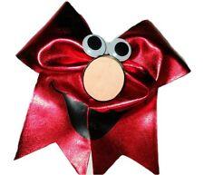 Adorable Elmo spandex Cheer Hair Bow