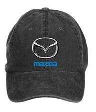 Mazda Logo Adult Cotton Washed Baseball Cap One Size ColorName