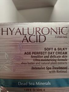 Hyaluronic Acid Firming Dead Sea Minerals Soft&sliky Age Perfect Night Cream