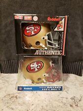 Riddell San Francisco 49ers Authentic mini-helmet 2-pack combo