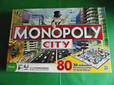 * MONOPOLY CITY * von Hasbro, mit 80 3D-Gebäuden u. elektronischem Makler