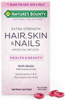 Hair, Skin And Nails Extra Strength 150 Count Vitamin, For Healthy Skin And Hair