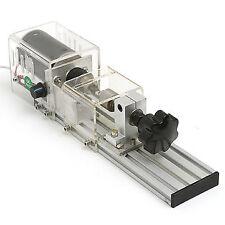 Raitool 350W Mini Tornio per la lavorazione del legno fai da te con alimentatore