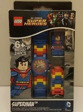 Lego Superman Buildable Watch  24 Pieces DC Comics Super Heroes New