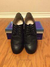 White Mountain Saint Black/Fabric Size 11 Women Oxford Shoe