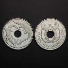 Papua New Guinea 1 Kina, 1996-2004, KM#6/6a, one coin, UNC